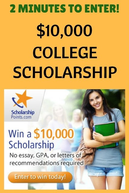 scholarship quick and easy 10 000 college scholarship college scholarships scholarshipmom