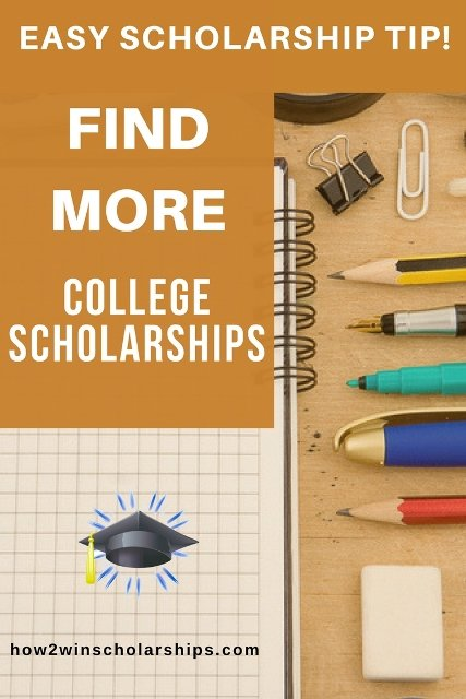 Find more college scholarships with these tips!