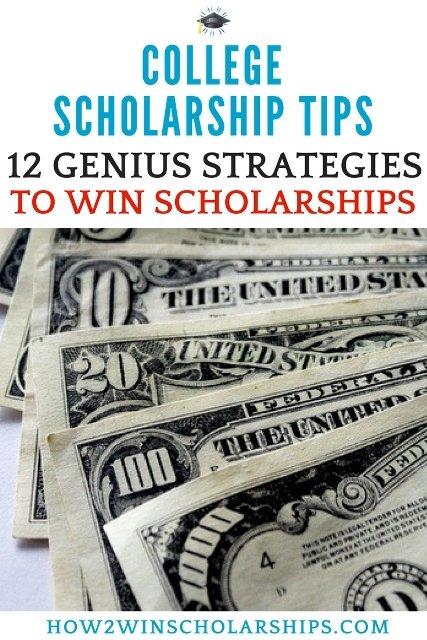 12 Genius College Scholarship Tips to Win More Money for School