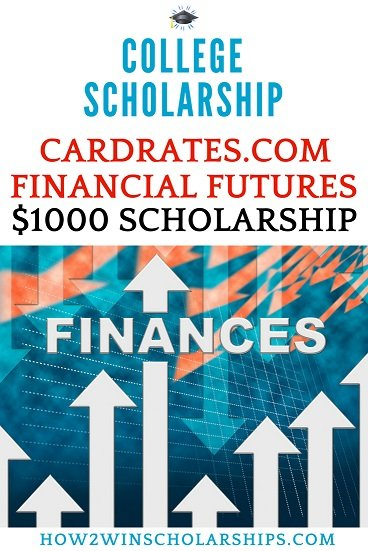 Cardrates Financial Futures Scholarship for College