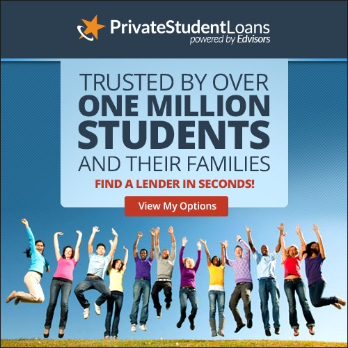 Safely compare student loan options for college with no commitment.