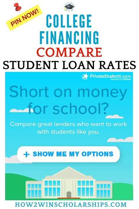 Compare student loan rates before committing to borrowing money for college financial aid.