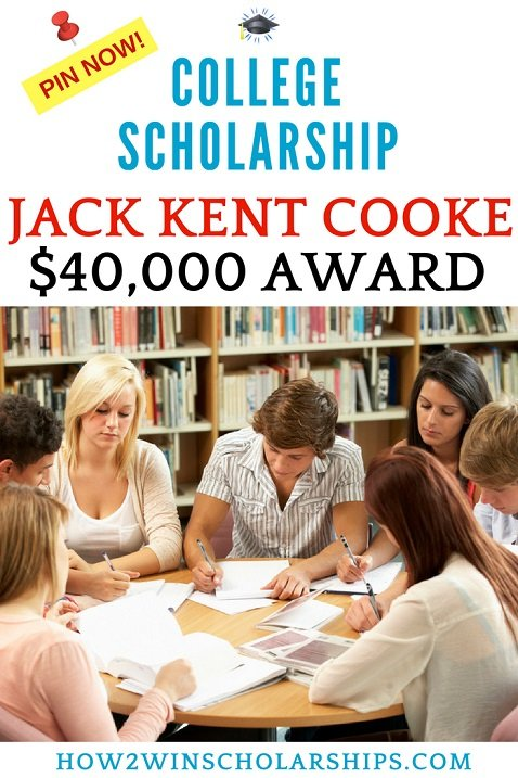 Jack Kent Cooke Scholarship for College - AMAZING opportunity!