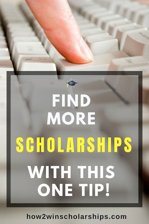 The college scholarship search can be so FRUSTRATING! Use this easy tip and find more money for college right now.
