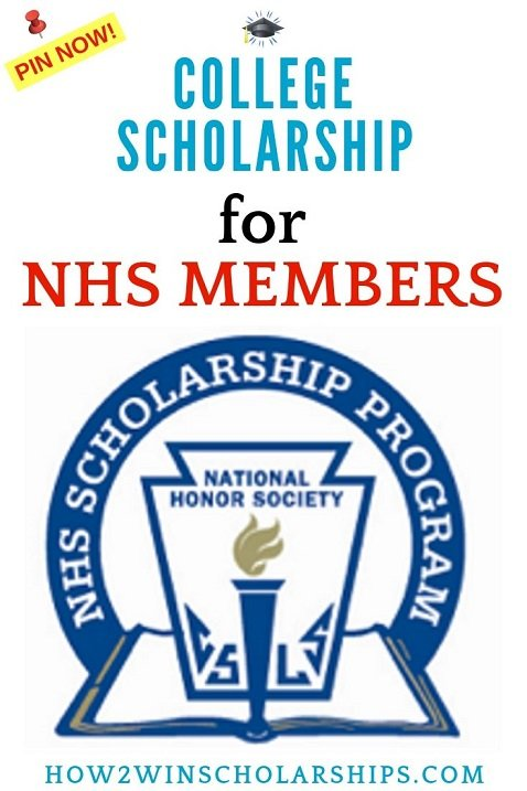 College Scholarship for NHS Members - National Honor Society Scholarships
