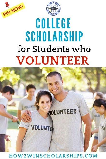 Volunteering Scholarship for Students