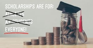You don't need perfect grades or sports skills to win $ for school. Find scholarships based on what you love to do.