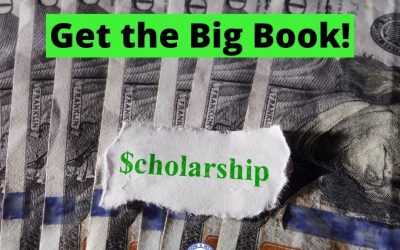 College Scholarship Tip:  Get the Big Book!