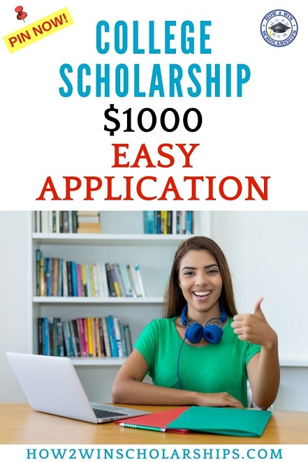 Easy Scholarship for College - Apply Right NOW