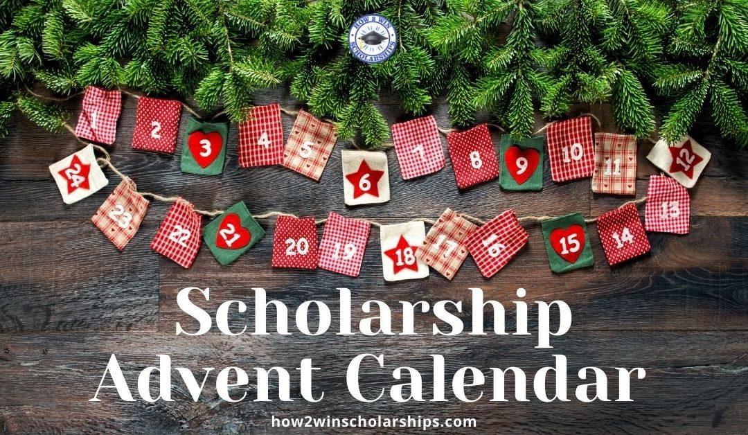 Scholarship Advent Calendar – 24 Days of Scholarships