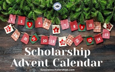 Scholarship Advent Calendar – 24 Days of Scholarships