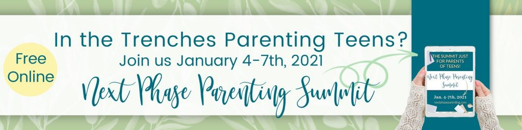 Next Phase Parenting FREE Summit Info for Parents