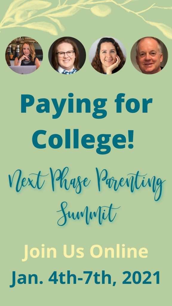 Paying for College Speakers - Next Phase Parenting Summit