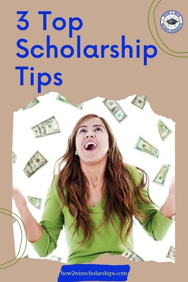 3 Top Scholarship Tips - Apply SMART
