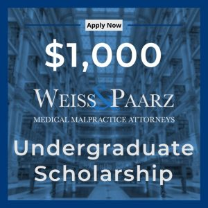 Weiss and Paarz Rising Star Scholarship